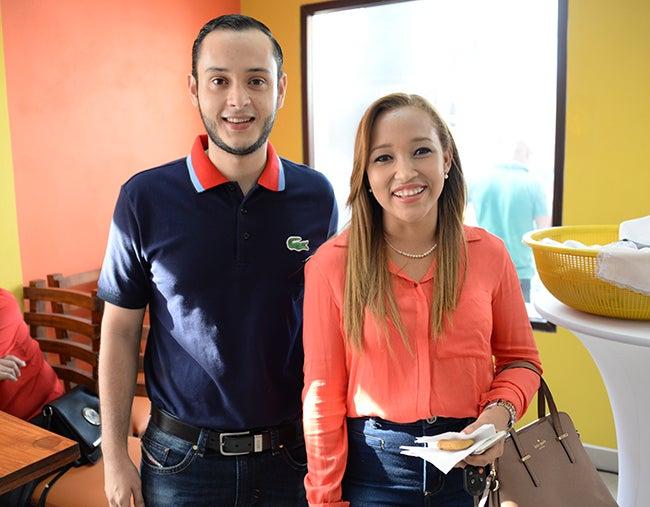 Néstor Muñoz y Nelye Hernández.