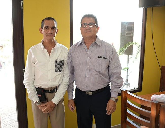 José Luis Vitanza y René Aguilar.