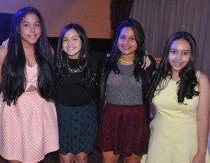 Bárbara Cruz, Sabina Barahona, Alexandra Foster y Andrea Paz.