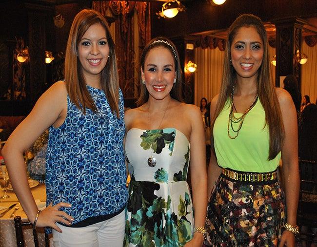 Ashley Page, Lorna Knuth y Vanessa Rodríguez.