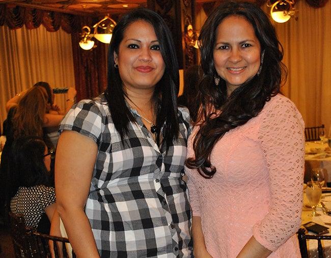 Cindy Cantarero e Iveth Rivera.