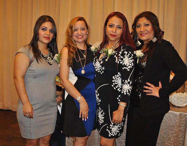 Ina Altamirano, Blanca López, Samanta Arévalo y Danae García.