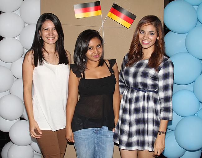 Nancy Flores, Edith Gálvez, Gloribeth Chirinos.