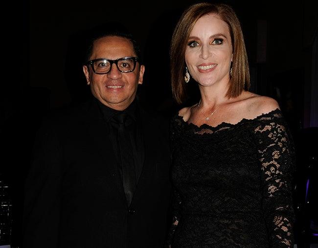Miguel Chong y Tissy Lardizábal.