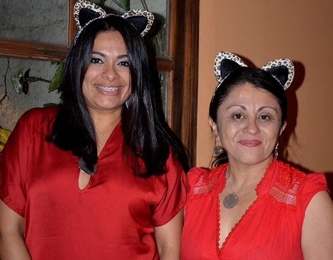 Sandra Salinas y Katia Fonseca.