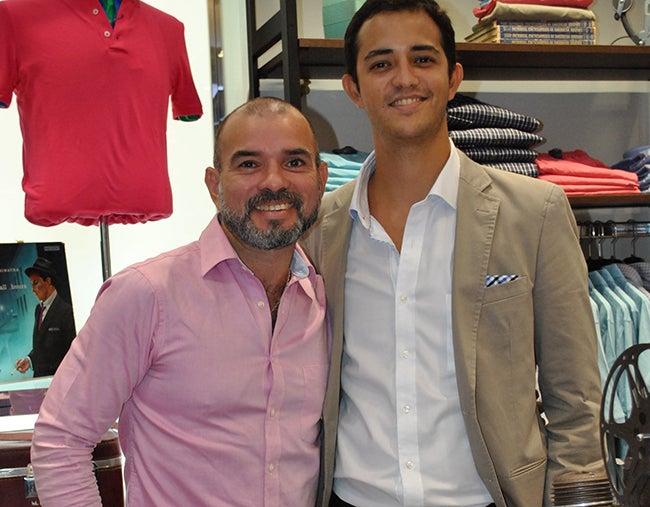 Juan Carlos Yanes y Rodrigo Kattan.