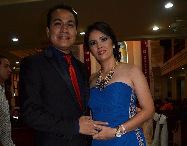 Herman Blanco y Persica Amaya.