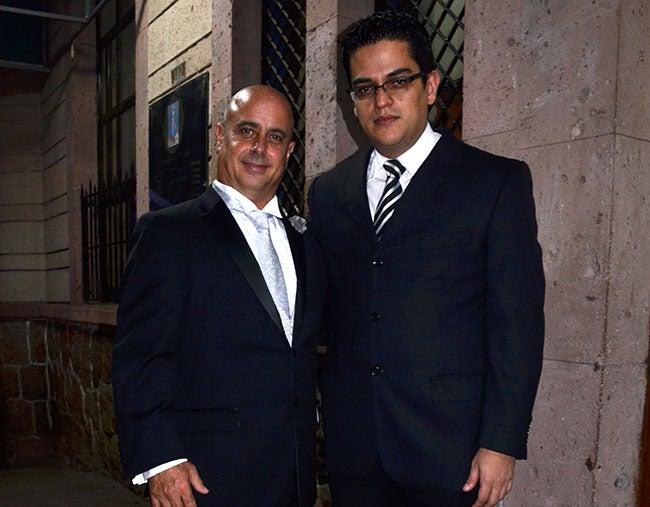 Rubén Armas y Manuel Perdomo.