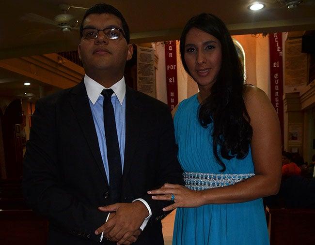 Carlos Morazán y Lizeth Calderón.