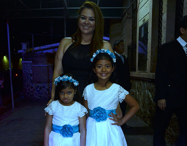 Maria Fernanda Fajardo, Yadira Maradiaga y Jimena Morazán.