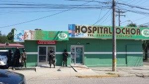 La clínica Ocho esta asegurada desde ayer martes.