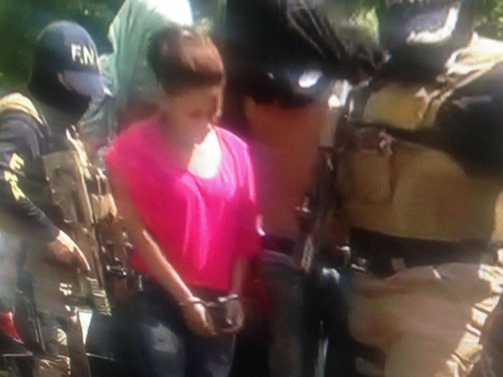 Mujer capturada por suponerla responsable de incendio de autobús en Choloma